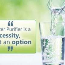 Water Purifier a Necessity, not an Option
