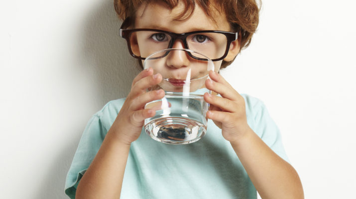 Importance of Drinking water for children