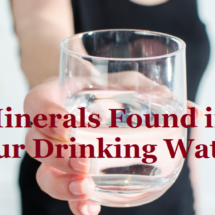 Essential Minerals found in Drinking water