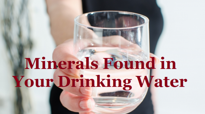 Essential minerals in drinking water