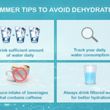 Useful summer tips to stay hydrated in hot weather