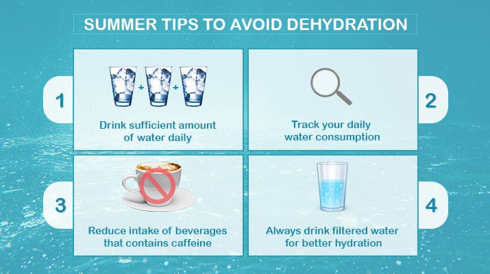 Summer tips on How to stay hydrated in hot weather