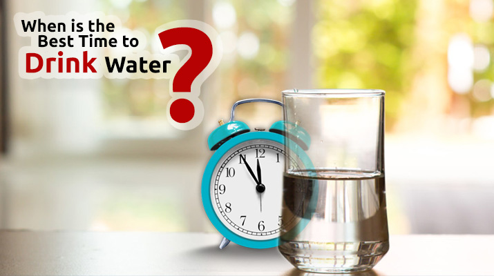 When is the Best Time to Drink water