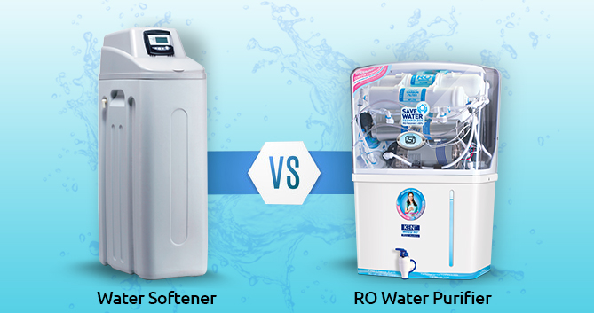 RO Water purifier Vs Water Softener