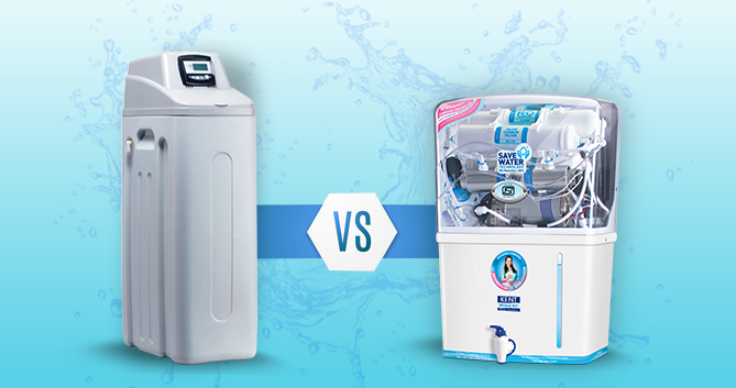 RO purifier Vs Water Softener